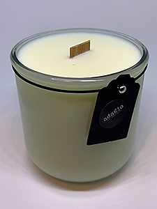 *Holiday Scents* Soy Candles with Wood Wick